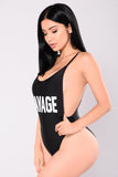 Savage Swimsuit - Black