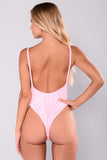 Birthday Suit Swimsuit - Pink