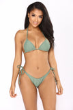 Go With The Flow Bikini - Olive