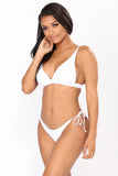 Reckless Love Bikini - White