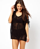 Lace Hollow Crochet Bikini Cover Up Beach Dress