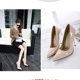 Pointed Toe Hasp High Heels Party Shoes