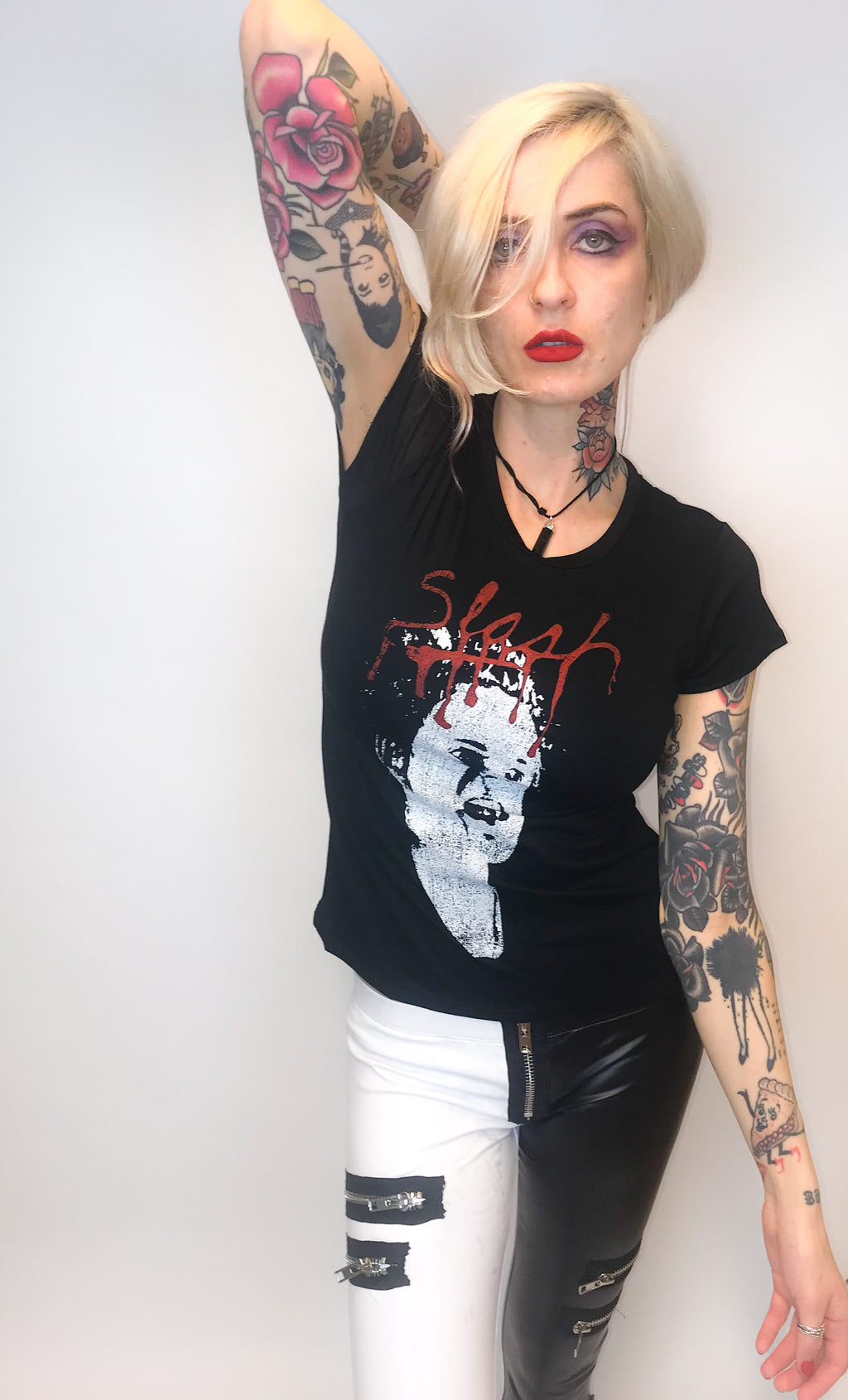SLASH Magazine Johnny Rotten Tee