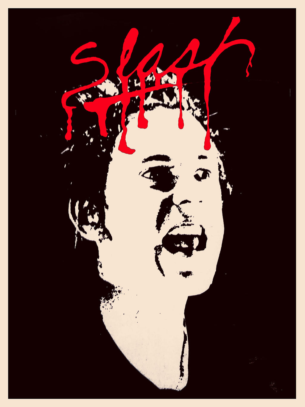 Slash - Johnny Rotten Poster