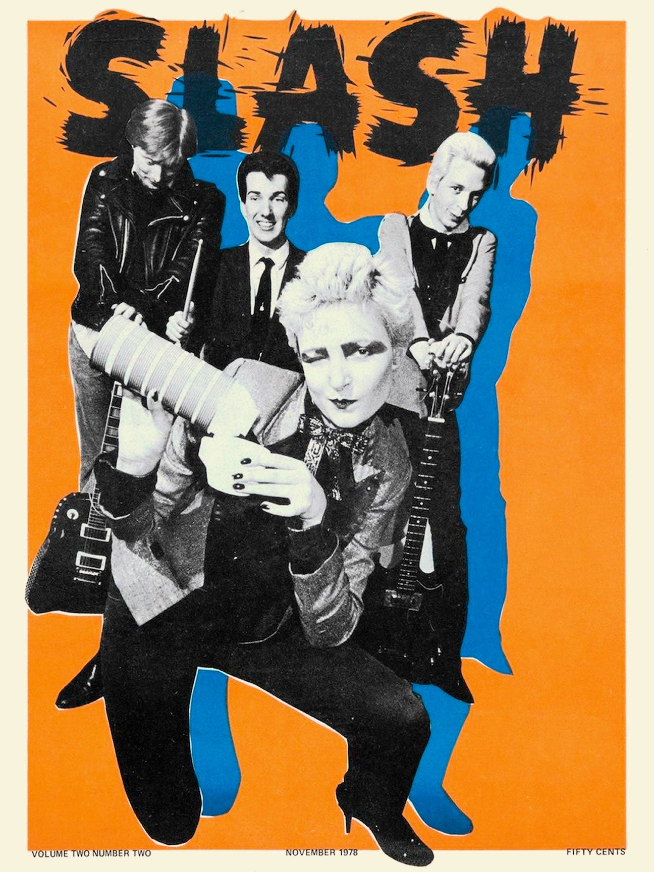 Slash - Siouxsie and The Banshees Poster