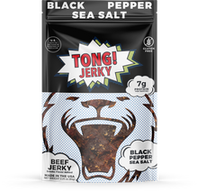 Tong Black Pepper and Sea Salt Beef Jerky - Tong Beef Jerky