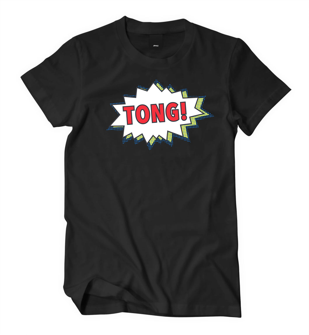 Tong Black T-Shirt (Female) - Tong Jerky