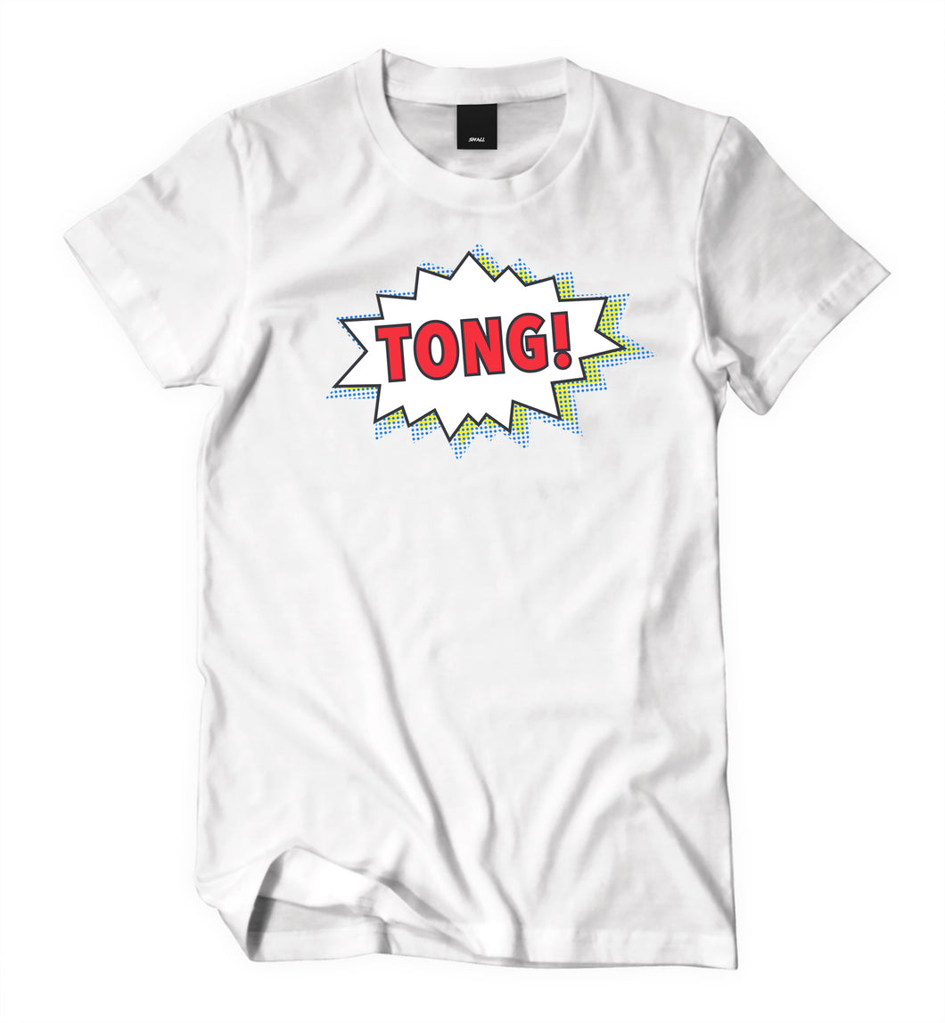Tong White T-Shirt (Female) - Tong Beef Jerky