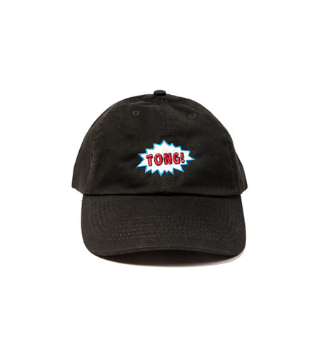 TONG! relaxed cap (Black)