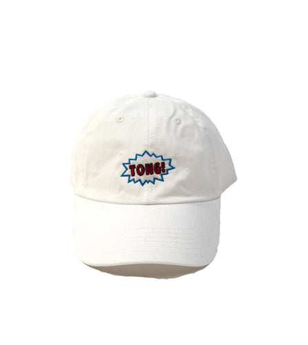 TONG! relaxed cap (White) - Tong Beef Jerky