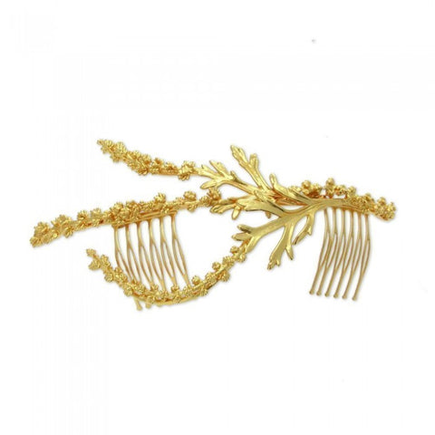 Kybele Thyme Hair Accessory - Gold