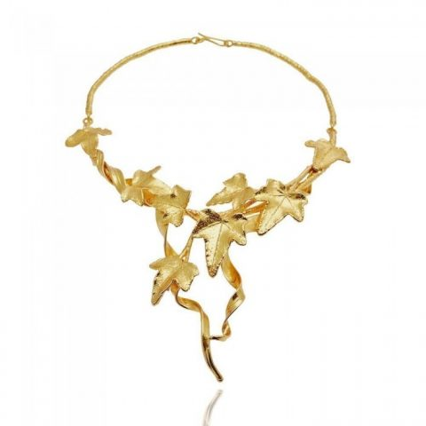 Necklace Ivy Case - Gold