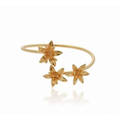 Phillis Money Tree Bracelet - Gold