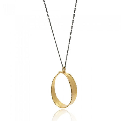 Bubbles Pendant - Gold