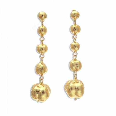 Venus Angelica Earrings - Gold