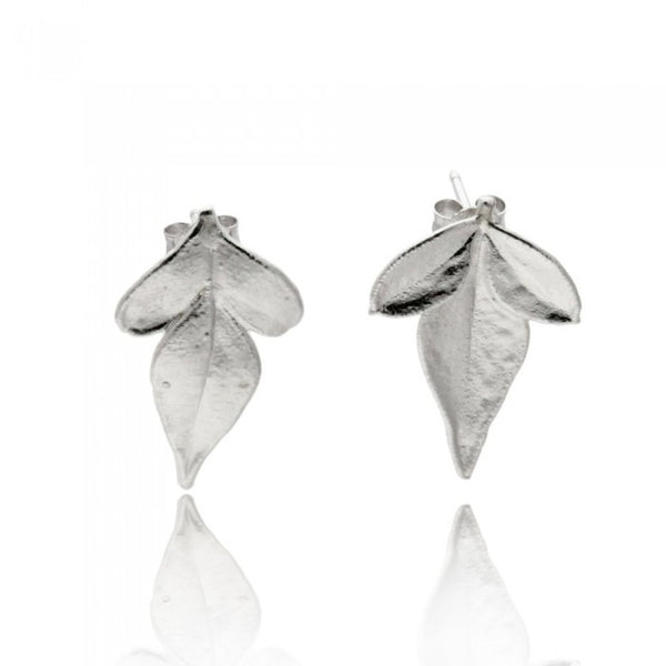 Miniature Jasmine Earrings - Silver