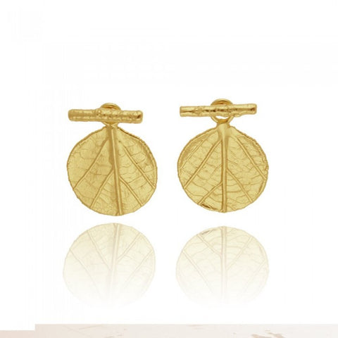 Amaryllis Earrings - Gold