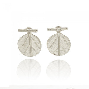 Amaryllis Earrings - Silver