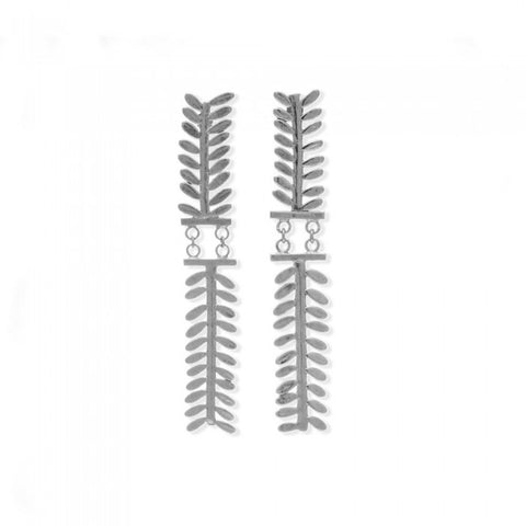 Erixo Earrings - Silver