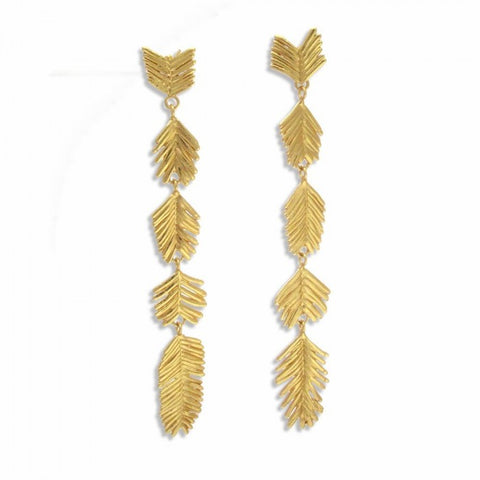 Electra Earrings - Gold