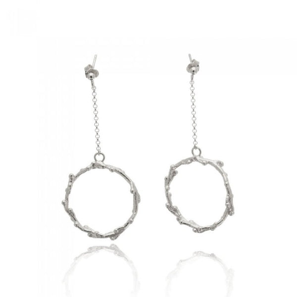 Selene Earrings - Silver