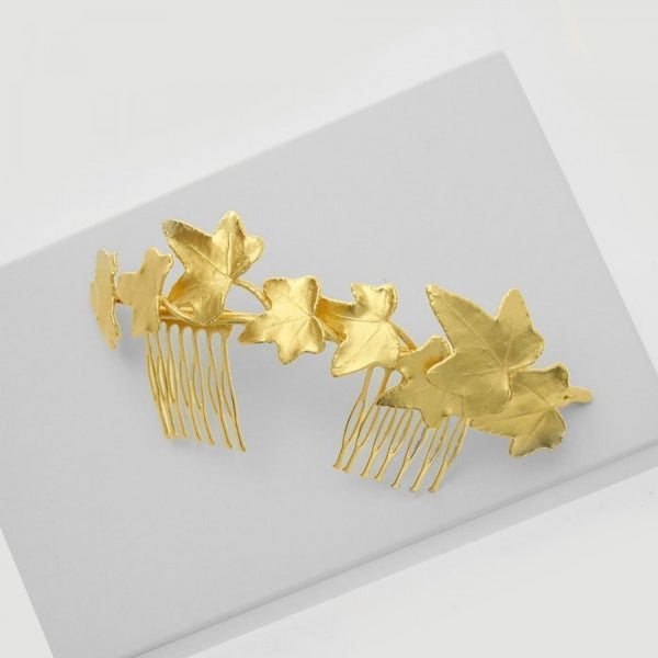 Kybele Ivy Hair Accessory - Gold