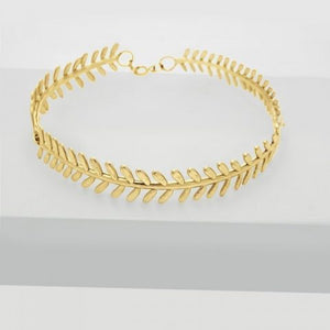 Areti Fern Necklace - Gold