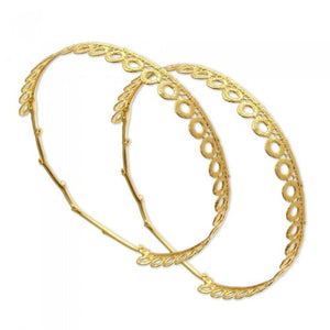 Kharis Wedding Crowns -Gold
