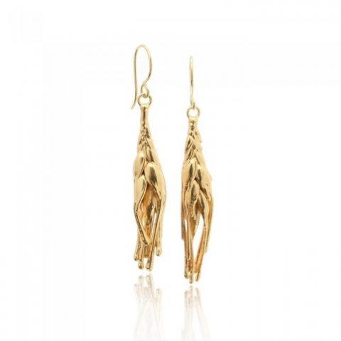 Demetra Earrings - Gold