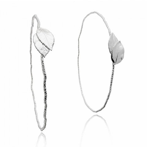 Melite Rose Wedding Crowns -  Silver