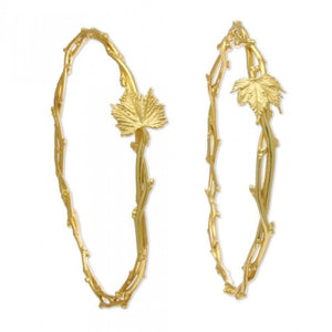 Kharis Vine Wedding Crowns - Gold