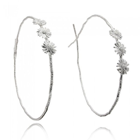 Kleio Daisy Wedding Crowns - Silver