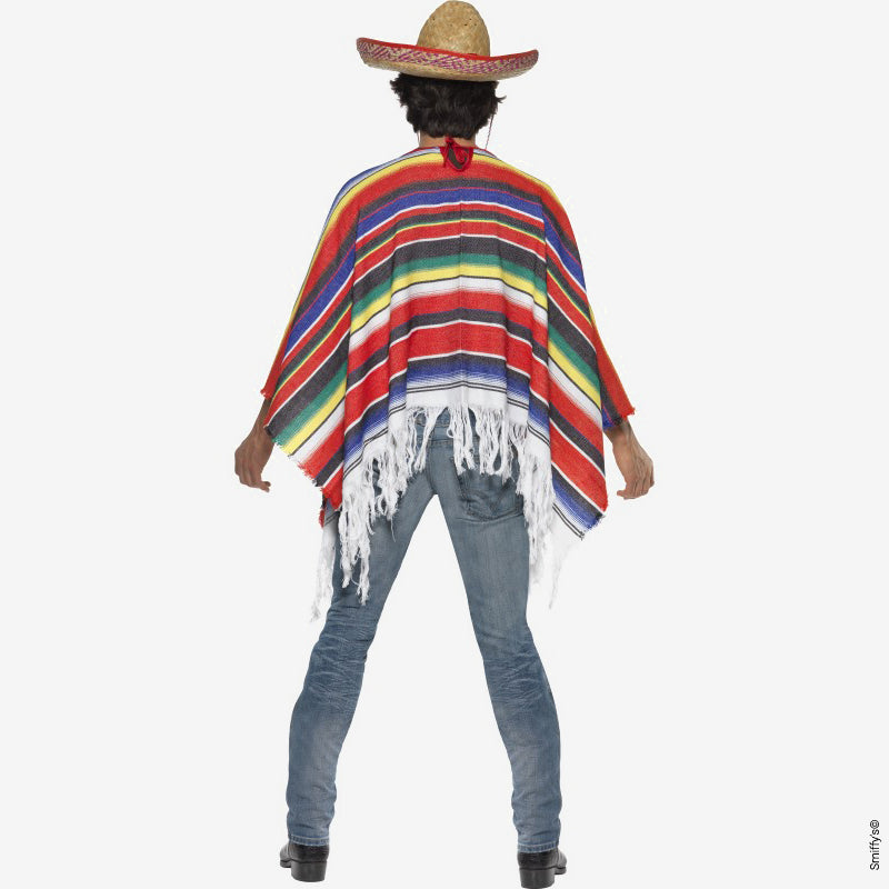 Poncho mexicain - multicolor - My Little Day