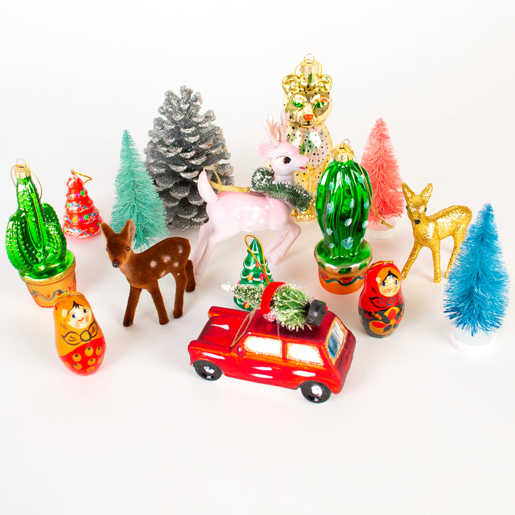 Christmas Toppers For Cupcakes.1 Decoration De Noel Leopard
