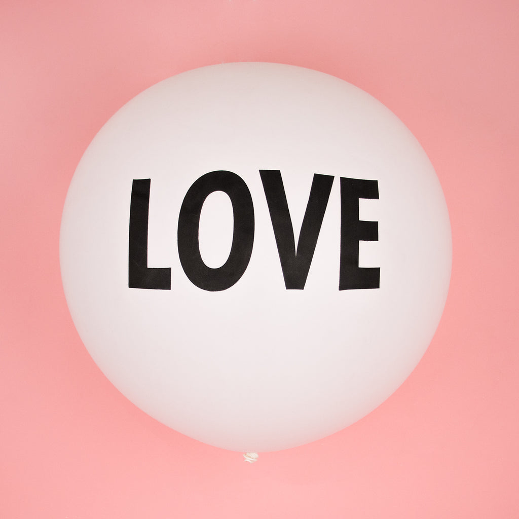 Ballon géant 1m - LOVE