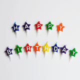 13 bougies d'anniversaire étoiles - Happy birthday - My Little Day