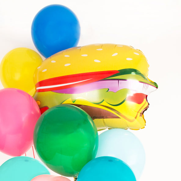 1 ballon aluminium Hamburger