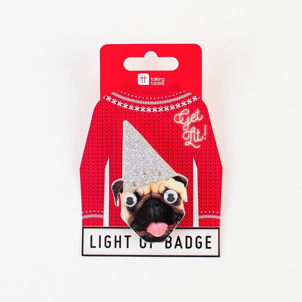 My Little Day 1 badge lumineux chien petit cadeau My Little Day