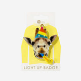 1 badge lumineux - Girafe - My Little Day