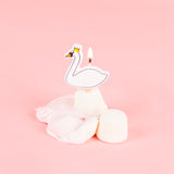Bougies cygne My Little Day pour decoration gateau d'anniversaire fille originale.