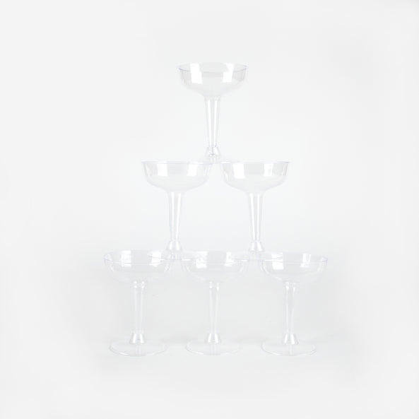 6 verres à cocktail