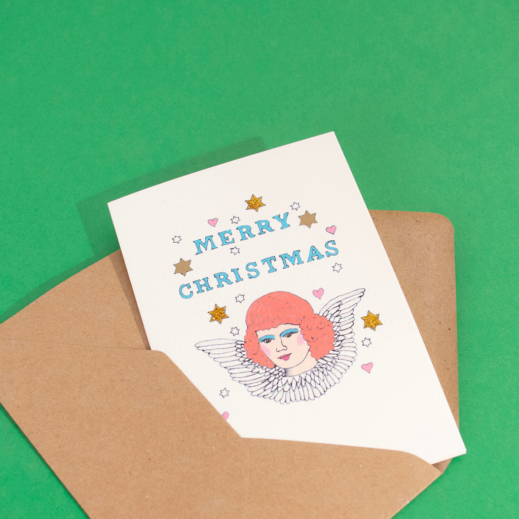 Stationery   1 card   Christmas Angel   My Little Day