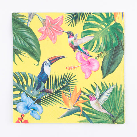 20 serviettes - Tropical