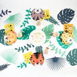 La table d'anniversaire enfant safari tropical par My Little Day