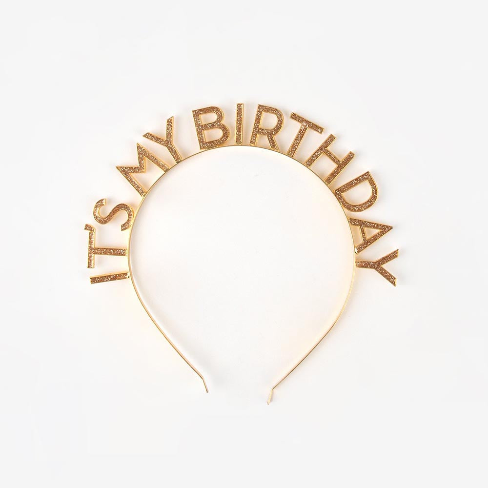 1 serre-tête It's my birthday - My Little Day