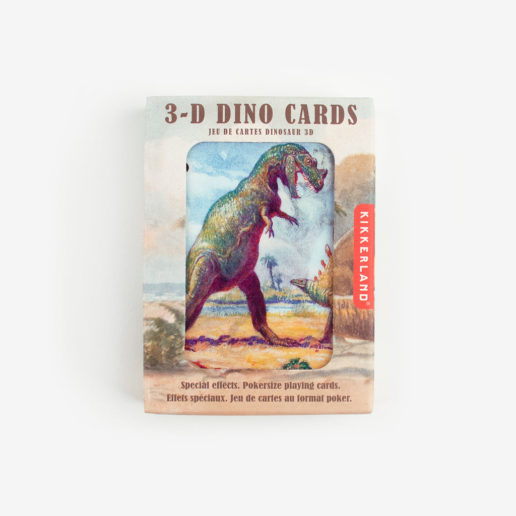 1 jeu de cartes 3D - Dinosaures - My Little Day