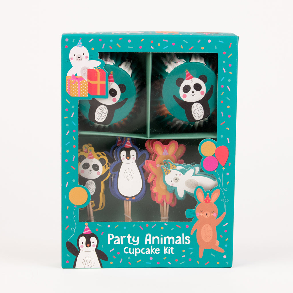 Kit cupcakes - Party animals