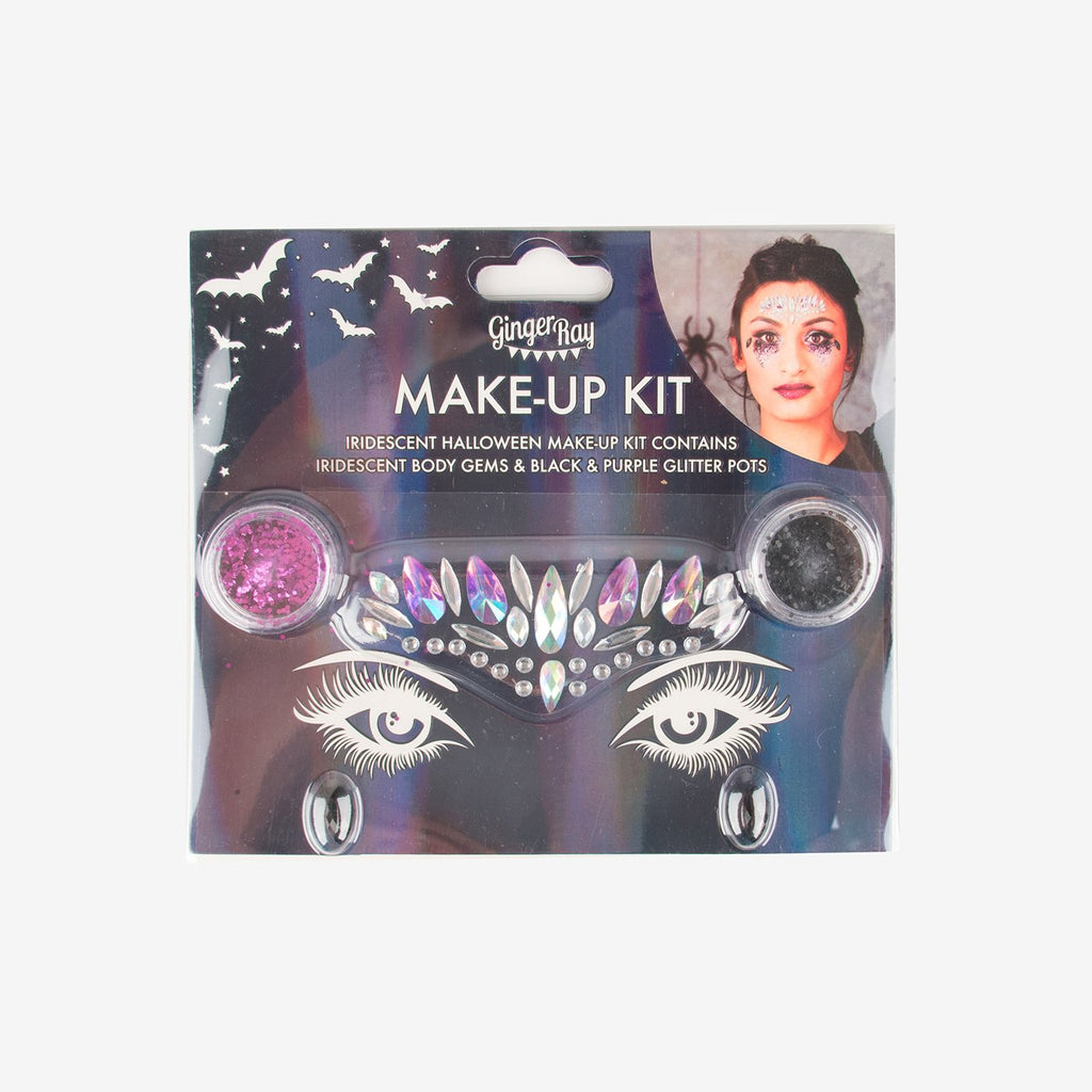 1 kit de maquillage bijoux et paillettes - Halloween - My Little Day