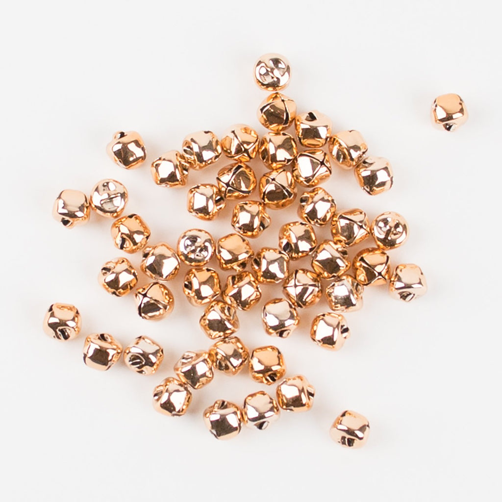 Ginger Ray Rose Gold Mini Bell Christmas Table Confetti 50 Pack!