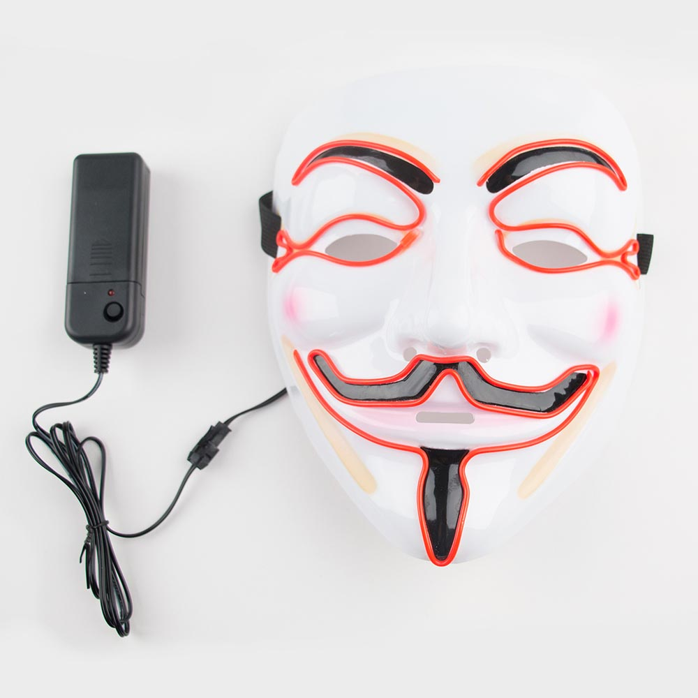 1 Masque LED Anonymous - My Little Day